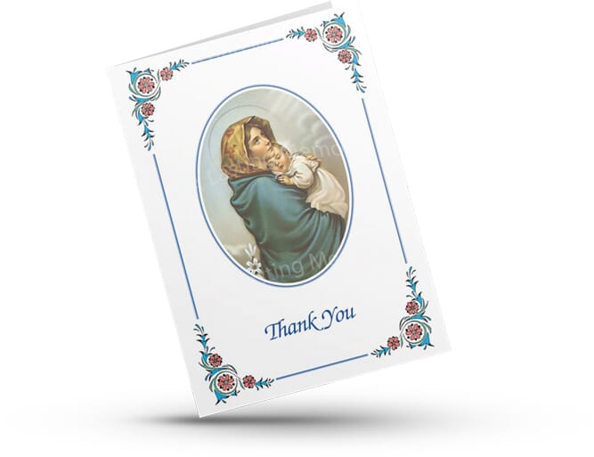Acknowledgement card